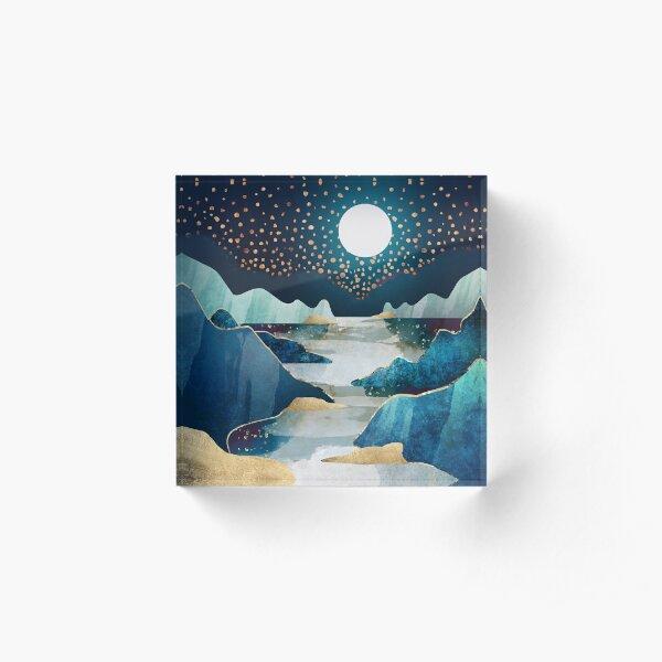 Moon Glow Acrylic Block