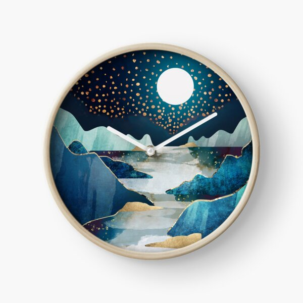 Moon Glow Clock