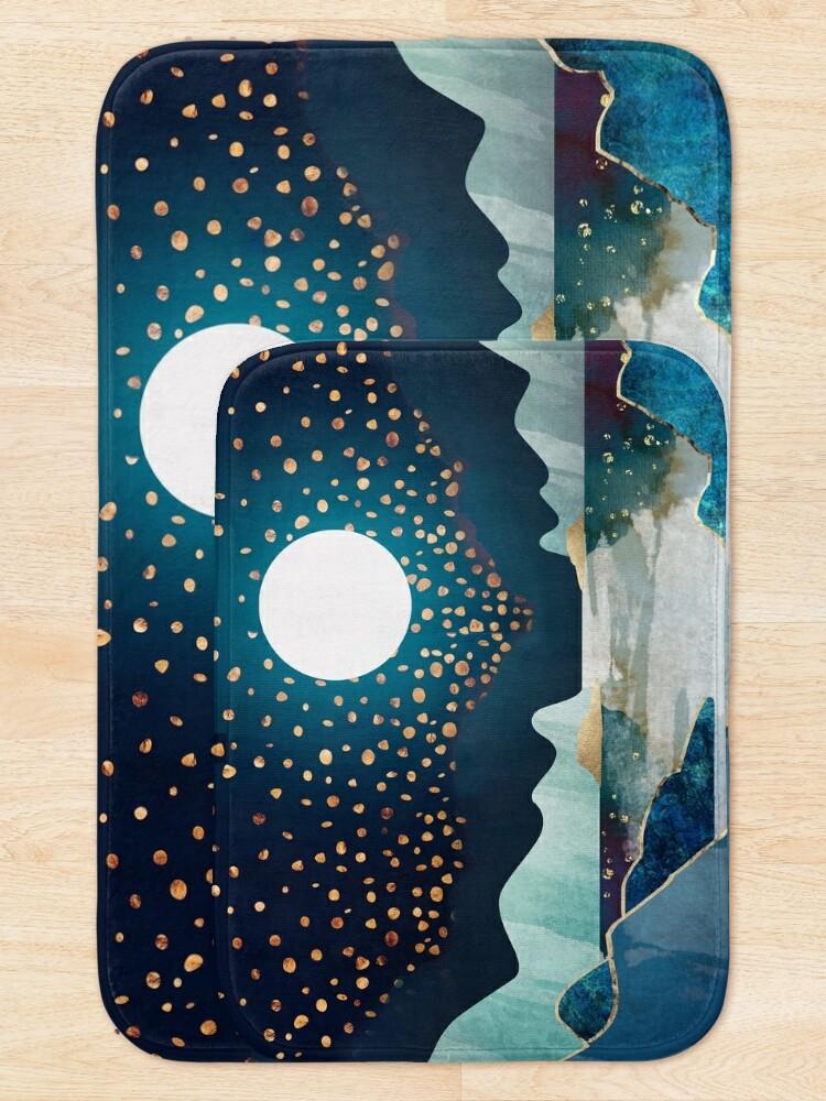 Alternate view of Moon Glow Bath Mat