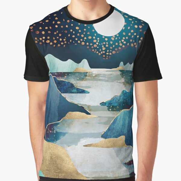 Moon Glow Graphic T-Shirt