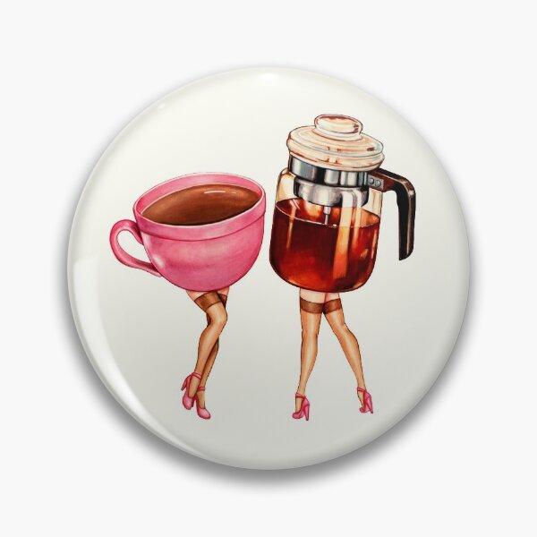 Coffee Girl Pin-Ups Pin