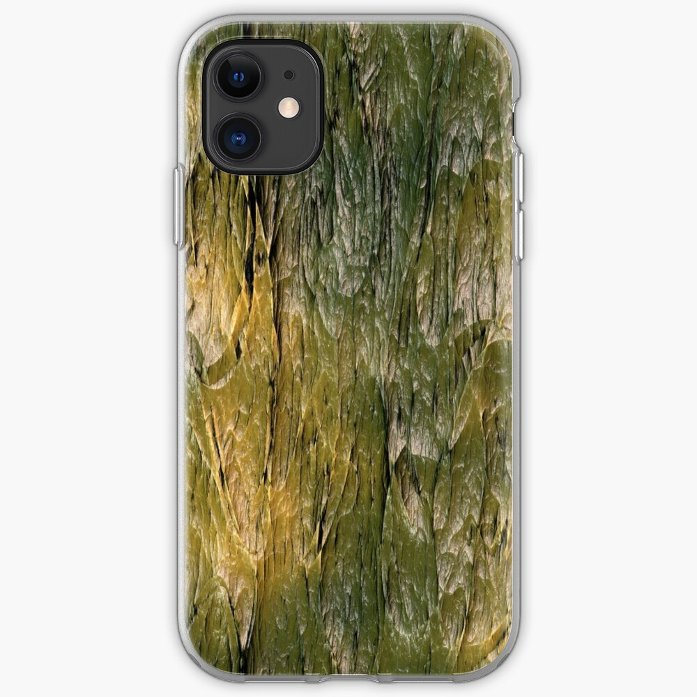 bark texture iPhone Case & Cover