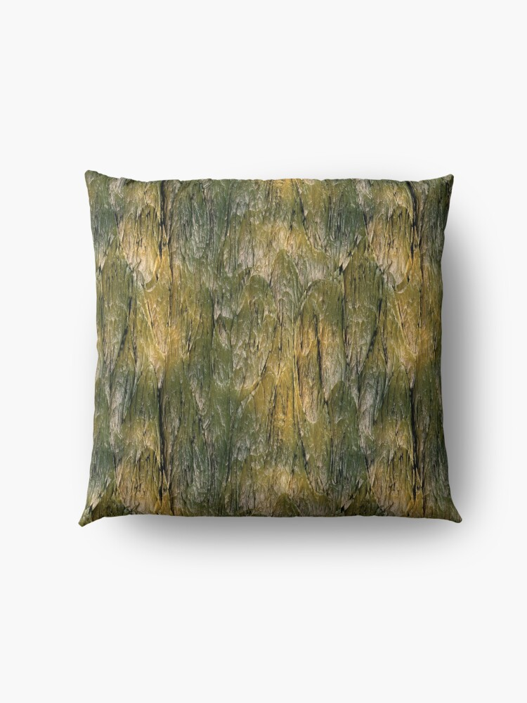 Alternate view of bark texture Floor Pillow