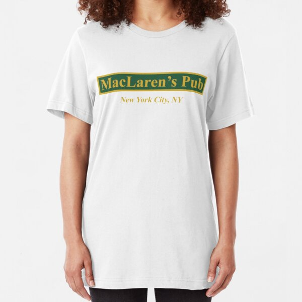 MacLaren's Pub, New York – How I Met Your Mother Slim Fit T-Shirt