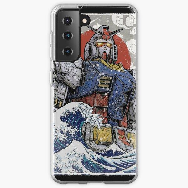 Kanagawa Grandpa Samsung Galaxy Soft Case