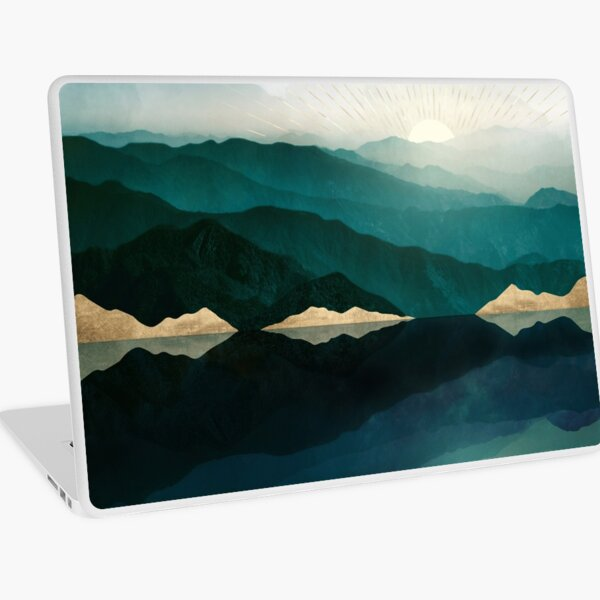 Waters Edge Reflection Laptop Skin
