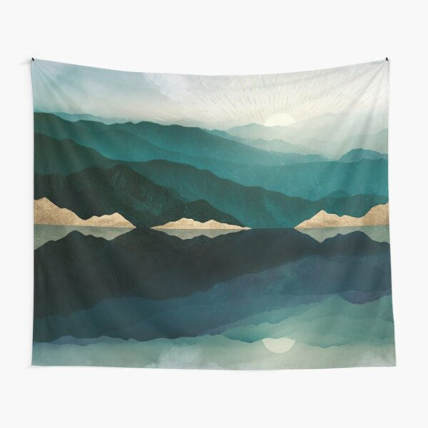 Waters Edge Reflection Tapestry