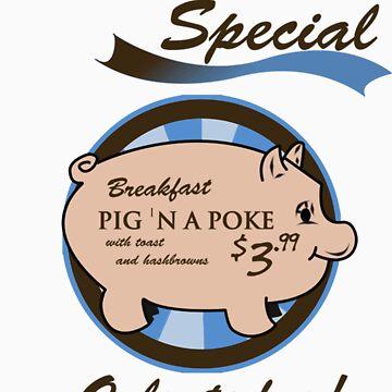 Supernatural - Pig 'n a poke by FoxRiver