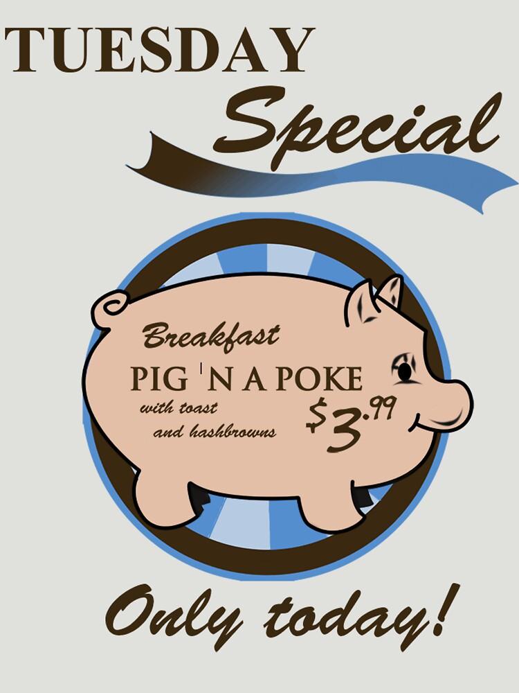 TShirtGifter presents: Supernatural - Pig 'n a poke | Unisex T-Shirt