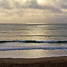 Surfers Praa Sands by Brian Roscorla