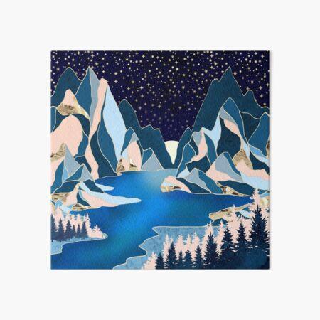 Star Peaks Art Board Print