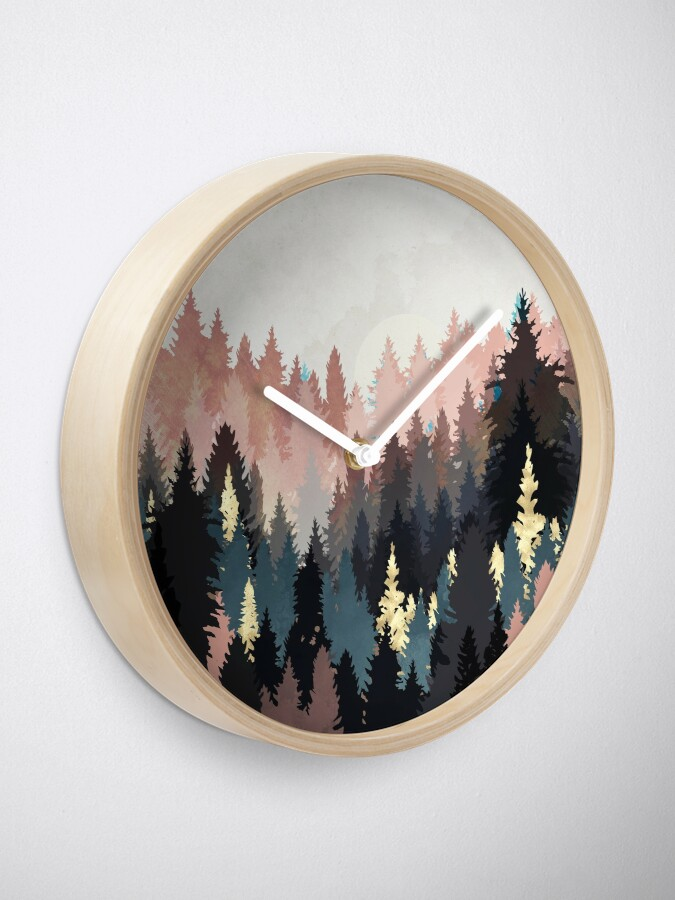 Alternate view of Spring Forest Light Clock