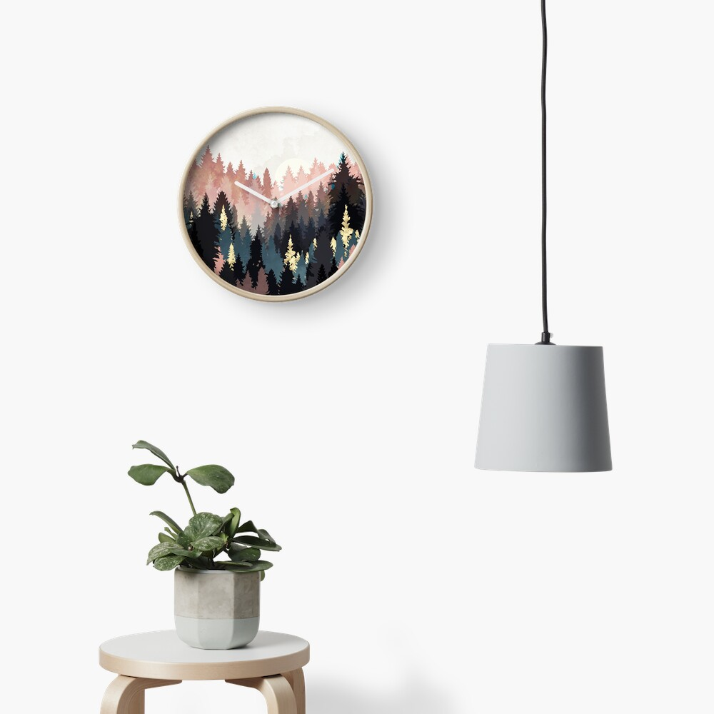 Spring Forest Light Clock