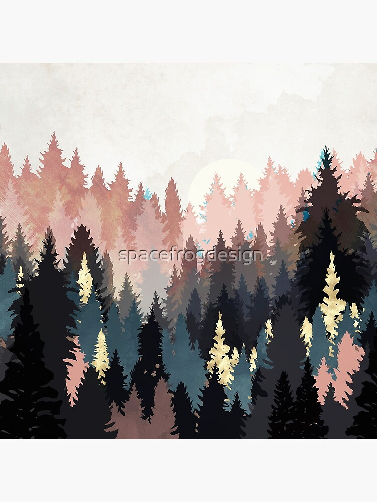 Spring Forest Light by spacefrogdesign