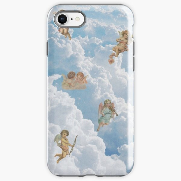 Renaissance angels in sky Cherubs Cupid Art Iphone Case iPhone Tough Case