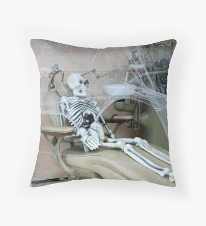 Doc! Where the hell are you?? Throw Pillow