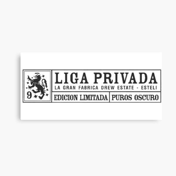 liga privada cigar  Canvas Print