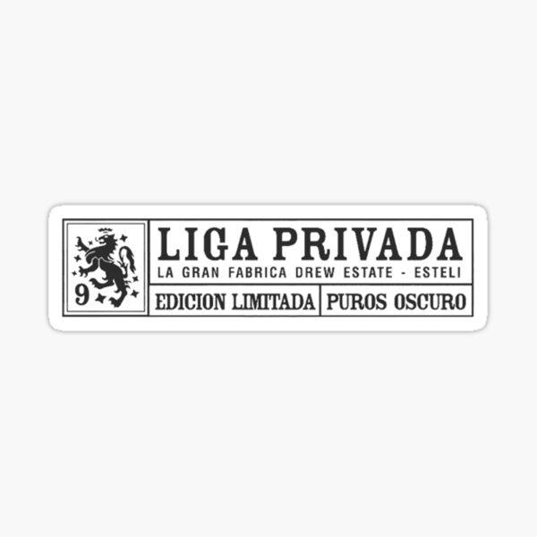 liga privada cigar  Sticker