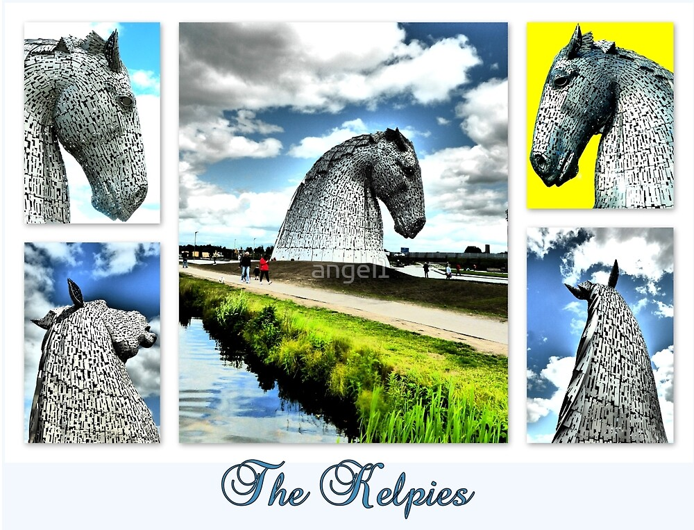 The Kelpies by ©The Creative  Minds