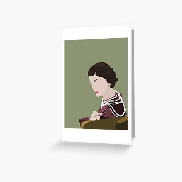coco Chanel Carte de vœux
