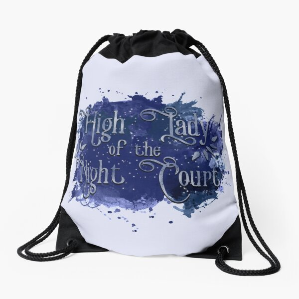 High Lady of the Night Court Drawstring Bag