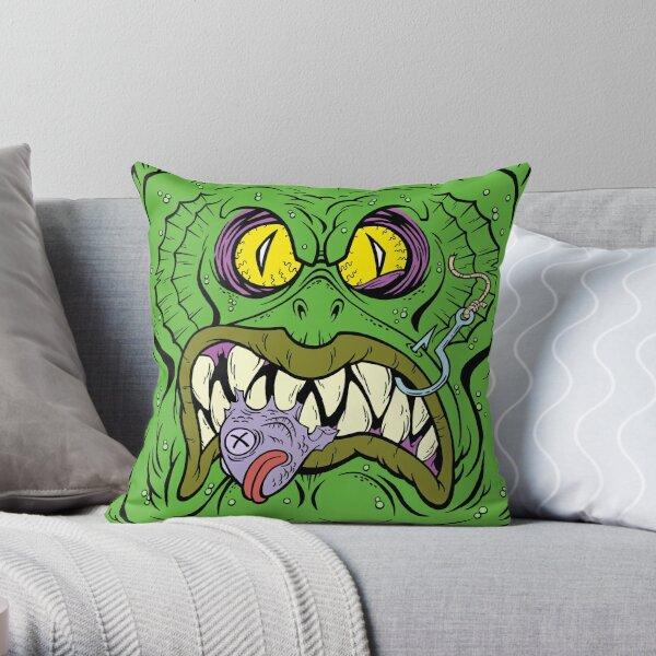 GRUESOME GILLMAN Throw Pillow