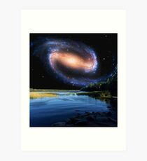 Itasca State Park Spiral Galaxy Art Print