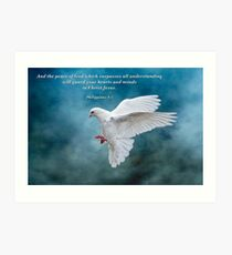 The Peace of God which surpasses all understanding . . . Art Print