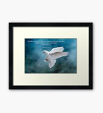 The Peace of God which surpasses all understanding . . . Framed Print