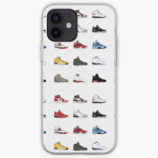 Jordan Retro Collection Coque souple iPhone