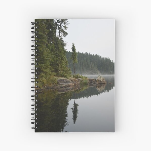 Morning Paddle Spiral Notebook