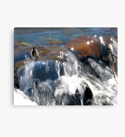 Sparkling Water Canvas Print