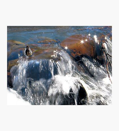 Sparkling Water Photographic Print