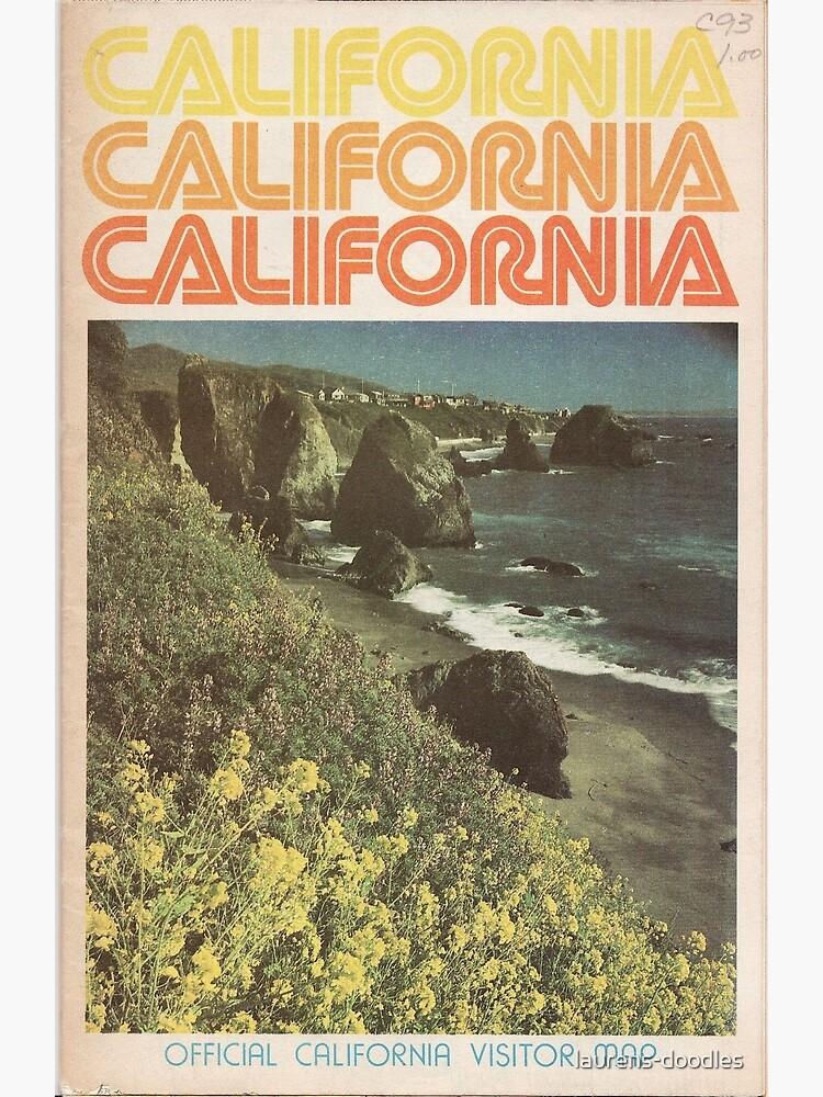 Vintage California Travel Guide by laurens-doodles