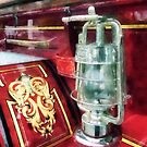 Lantern on Old Fire Truck by Susan Savad