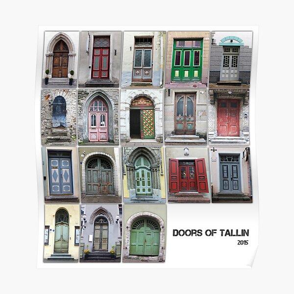 Doors Of Tallinn #tallinn Poster