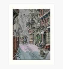 Streets Of Suidemor Art Print