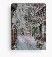 Streets Of Suidemor Canvas Print