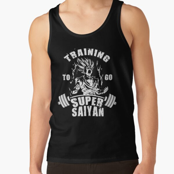 Training To Go Super Saiyan Tank Top