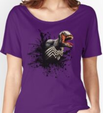 Spider Symbiote Women's Relaxed Fit T-Shirt