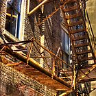 Rusty Ladder by cadman101