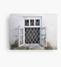 White is cooler than blue Canvas Print