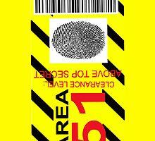 AREA 51 ID by Tony  Bazidlo