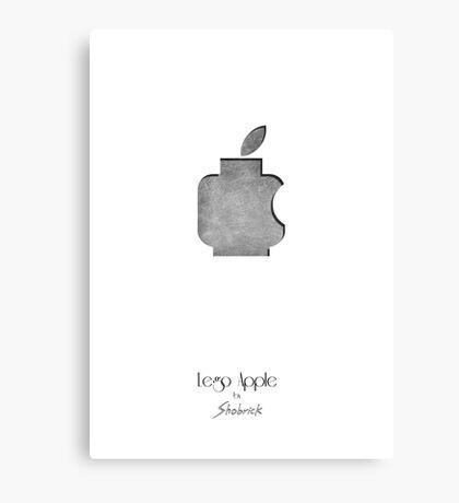 Lego Apple  Canvas Print