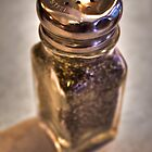 Black Pepper Shaker by cadman101