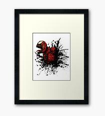 SON of Spider Symbiote Framed Print