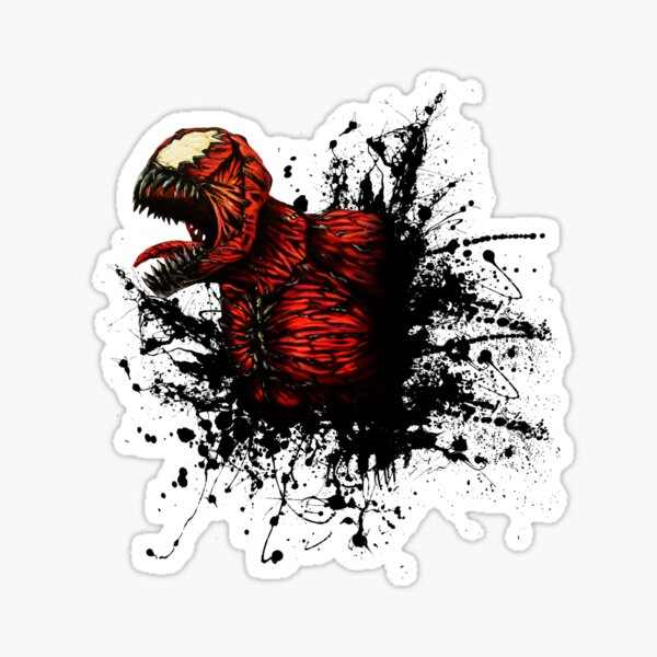SON of Spider Symbiote Sticker