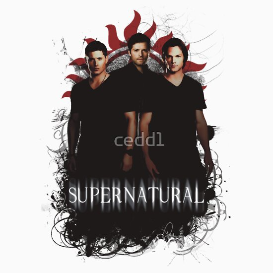 TShirtGifter presents: Supernatural, Dean, Castiel and Sam