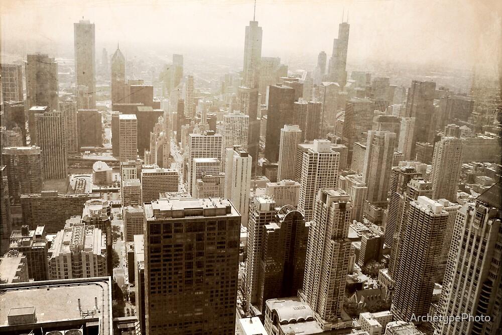 Overlooking Chicago by ArchetypePhoto