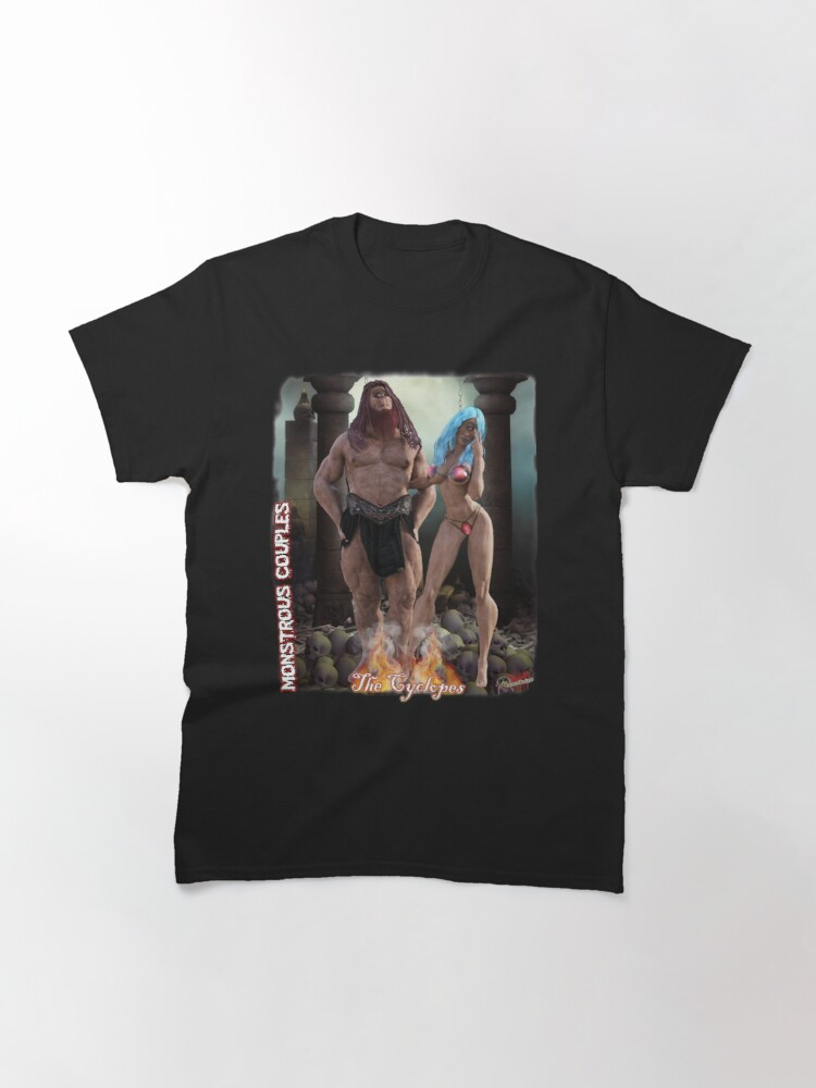 Alternate view of Classic Monsters: Cyclops Classic T-Shirt